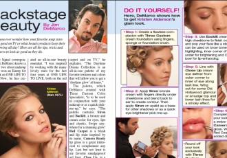 Backstage Beauty DIY Article