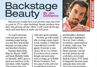 Get the Look Soap Opera Digest Article